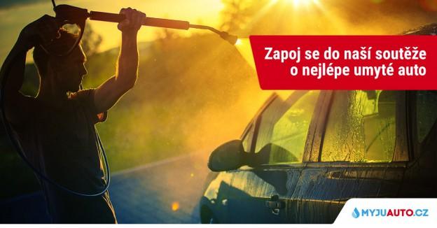 soutěž o nejlépe umyté auto